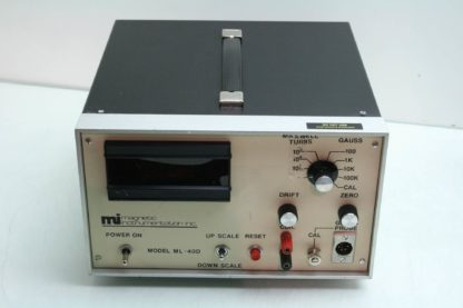 Mag Lab Magnetic Instrumentation ML40D Bench Electronic Gauss Meter 0 100K Range Used 171830189352 2