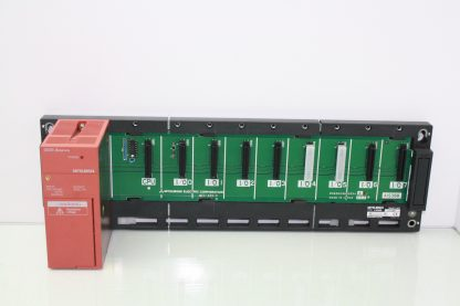 Mitsubishi A1S61PN Power Supply Module with A1S38B 8 Slot Base Unit Used 181016296048 2