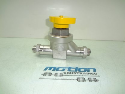 Nupro 6L LD16 AAXX YW LD Series Diaphragm Valve 34 Tube Connection Used 181105464522 2