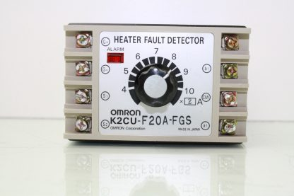 Omron K2CU F20A FGS Heater Fault Detector 220V AC Source Heater Voltage Used 181016296024 2