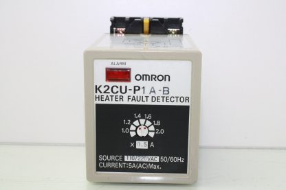 Omron K2CU P1A B Heater Fault Detector 110220V AC 5A AC Heater Detector Used 172129102067 2