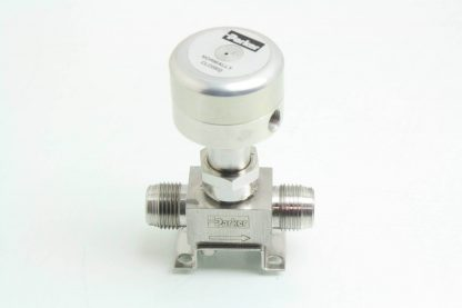 Parker 8V P8K 11AC SS PP Stainless 12 Face Seal Bellows Valve NC Used 171599637463 2
