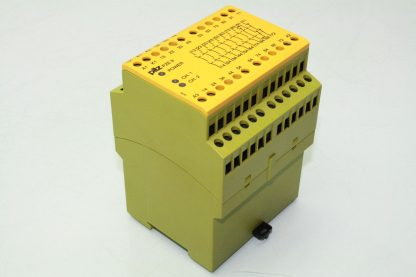 Pilz 774150 PZE 9 Safety Relay Emergency Stop Control Relay Module 24VDC Coil Used 172129102002 2