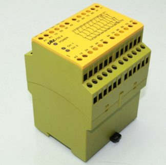 Pilz 774150 PZE 9 Safety Relay Emergency Stop Control Relay Module 24VDC Coil Used 172129102002