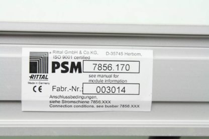 Rittal PSM 7856170 Cabinet Line Power Surge Protector Module Used 171269277022 9