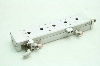 SMC 13 MXS12L 100A Pneumatic Guided Air Cylinder 12mm Bore x 100mm Stroke Used 172266888345 2