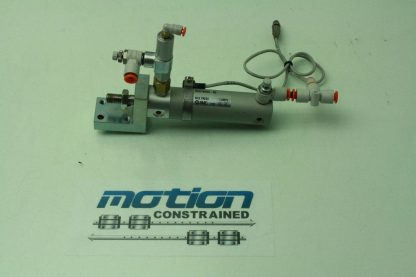 SMC CDG1BN25 50 Pneumatic Air Cylinder 25mm Bore x 50mm Stroke Used 181107638693 2