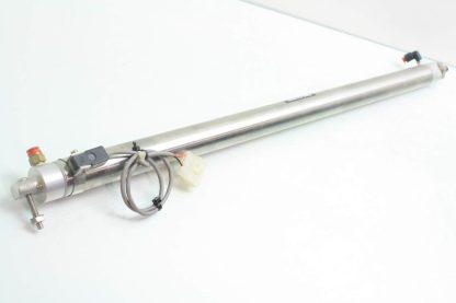SMC NCDMC125 2300 B64 XC6 Pneumatic Stainless Air Cylinder 1 14 Bore x 23 Stk Used 171671086302