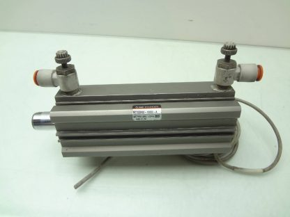 SMC NCDQ2A32 100DC A Pneumatic Compact Air Cylinder 32mm Bore x 100mm Stroke Used 172199789430 2