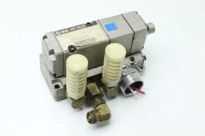 SMC NUS4114 0009D 24VDC Solenoid Valve Class 1 150PSI Max Pressure Used 183455161502