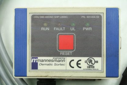 Siemens Mannesmann Dematic Sortec 601404 59 Control Interface for Conveyors 5HP Used 172331507056 2