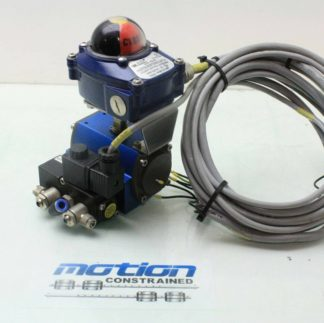 WireMatic Valve Actuator WM 2 DAC ITS 110 Position Monitoring Switch ISO F04 Used 171251827422