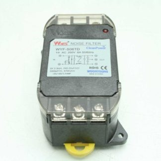 Wyes WYF 506TD Noise Filter 250VAC 10A 50 60Hz Used 182809205392
