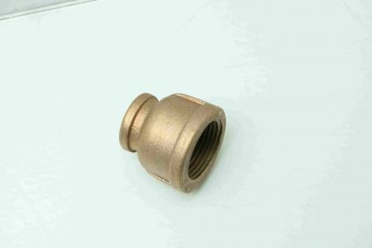 17 All MRO Brass 12 NPT X 1 NPT Reducing Pipe Coupling Fitting New 171605759378 3