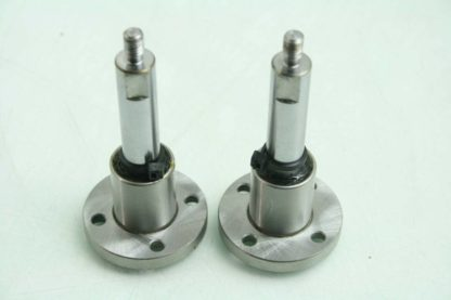 2 Misumi SLHFRS12 Linear Shaft Bearing Pillow Block Shaft 70mm Rod 12mm Dia Used 172473296003