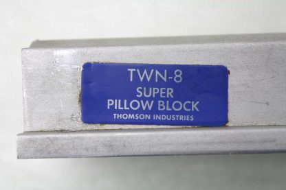 2 Thomson TWN 8 Pillow Blocks Super Twin Closed 12 Shaft Diameter Used 172088993923 7
