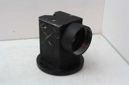 3 Diameter Front Surface Laser Mirror in Right Angle Aluminum Enclosure Used 182026384783 3