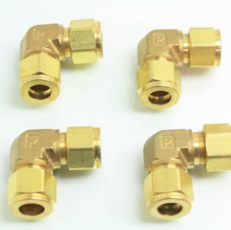 4 New Parker 8EE8 B Brass Union Elbow Tube Fittings 12 Tube Union Fittings New other see details 171607944513