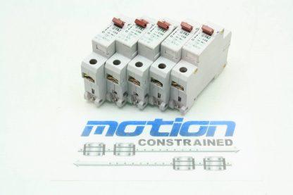 5 Klockner Moeller Single Pole Circuit Breakers FAZ L16A FAZ L6A 6A 16A Used 171464675933