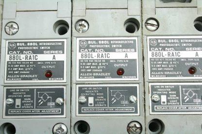 7 Allen Bradley 880L RA1C Retroreflective Photoelectric Sensors Switches Used 172556719463 17