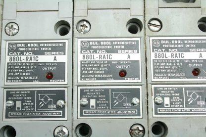 7 Allen Bradley 880L RA1C Retroreflective Photoelectric Sensors Switches Used 172556719463 3