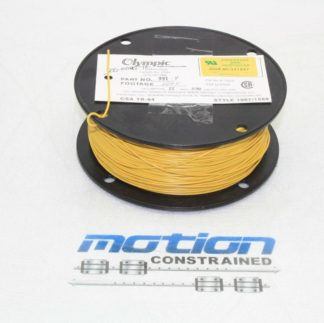 800 ft Spool Olympic Wire Cable 22 AWG PVC Insulated Wire 105C Yellow New other see details 182982974913