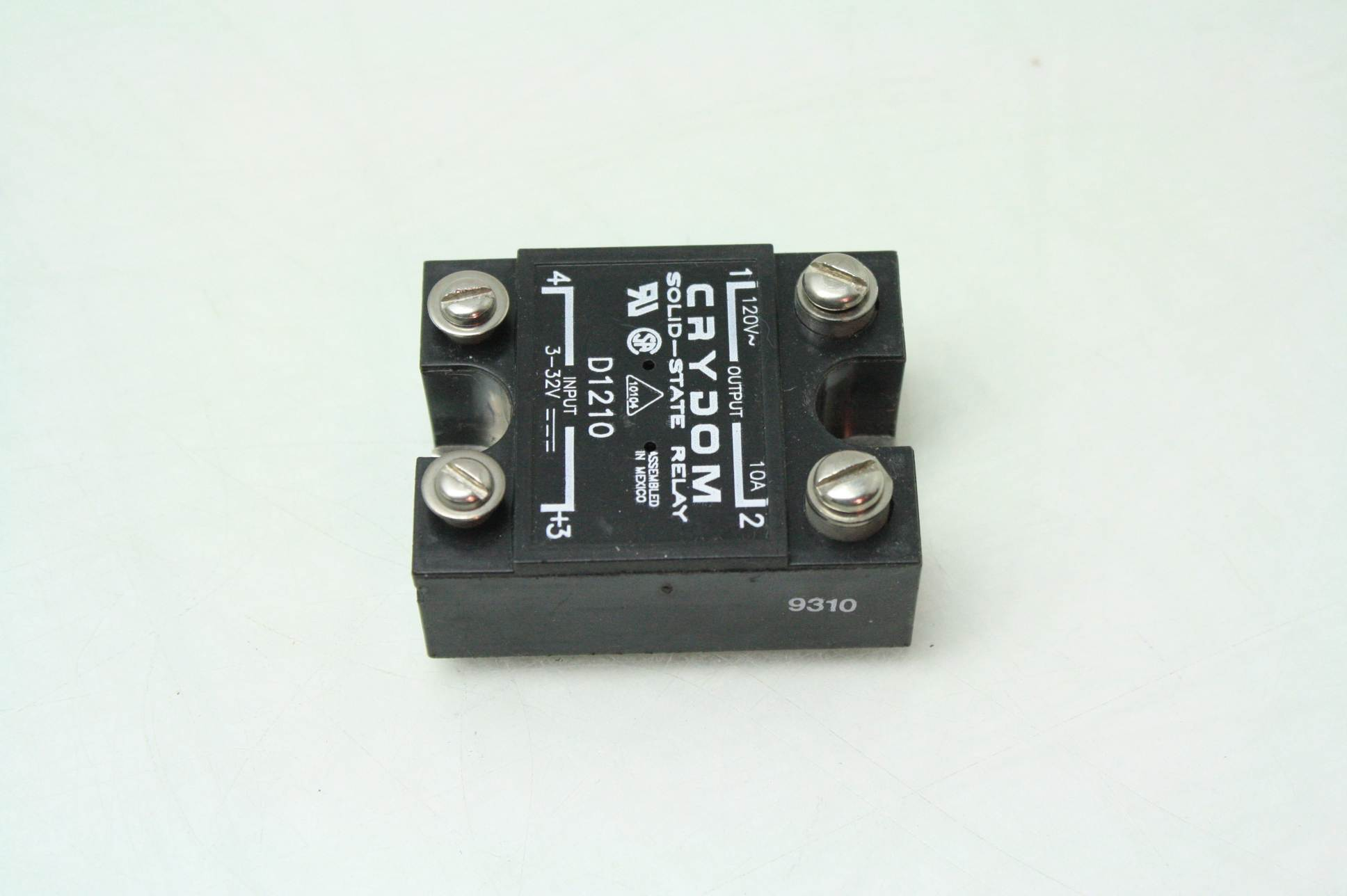 Crydom D1210 Solid State Relays Industrial Mount 10A 120V DC