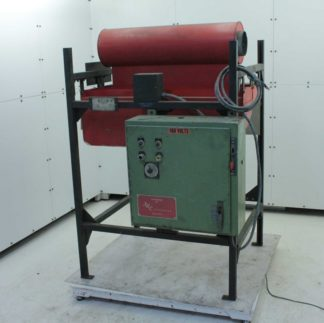 Driquik 2 4 750 Tube Pipe Infrared Ceramic Cone Curing Oven 6 kW Output 480V Used 183260161633