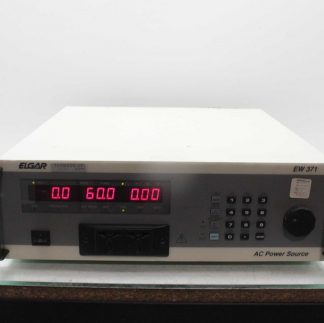 Elgar EW371 2 Programmable AC Power Source 90 132180 250V 7A Max Used 173333366413