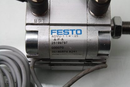 Festo Compact Pneumatic Air Cylinder ADVU 1 14 25 A P A Used 172199789468 3