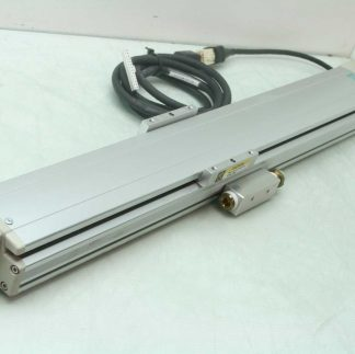 IAI IS S X M 4 60 530 Linear Actuator 16mm Ball Screw 530mm Stroke 60W Servo Used 182161692963