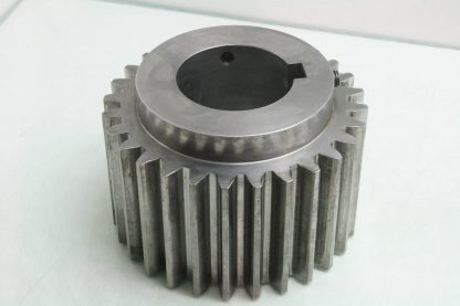 Illinois Gear 141103 01 Steel Timing Pulley 4 Wide 21mm Pitch 3 14 Bore Used 172002079179 3