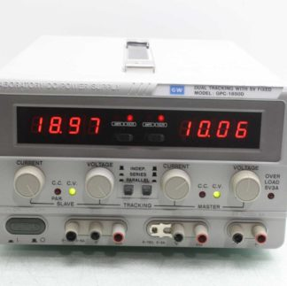 Instek GW GPC 1850D 195W Triple Output DC Power Supply 18V 10A Parallel Used 173432278303