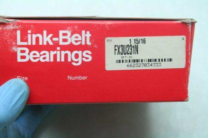 Link Belt FX3U231N 2 Bolt Flange Standard Duty Ball Bearing Unit 1 1516 Bore New 172134197093 3