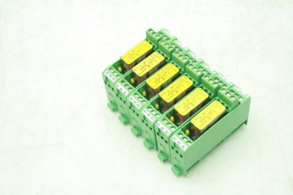 Lot of 6 Phoenix Contact PSR SCF 24UCURM2X21 Safety Relay Extension Modules Used 183110990703