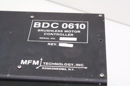 MFM BDC 0610 Brushless Servo Motor Controller Drive Motor Spindle Used 172124059013 4