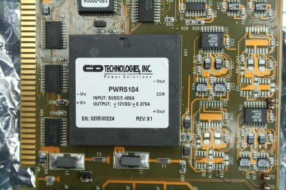 MicroE 507 50059 Motion Controller Encoder Positioner Interface Board ISA Bus Used 172340143066 3