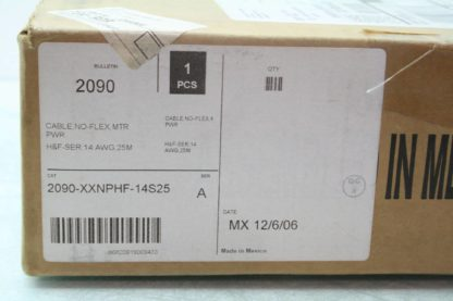 New Allen Bradley 2090 XXNPHF 14S25 25m Servo Power Cable Non Flex Used 171994987383 3