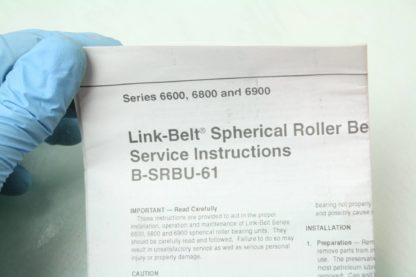 New Link Belt PLB6831R02 Mounted Spherical Roller Bearing 1 1516 Bore New other see details 171995001123 13