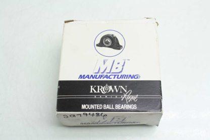 New MB Manufacturing KFC4451 316 Mounted Ball Bearing 1 316 Bore Flange Mount New 172136107663