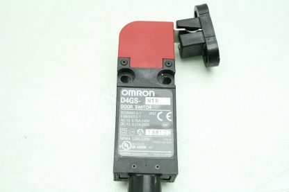 Omron D4GS N1R Safety Door Interlock Switch with Interlock Key Used 172554743483 13