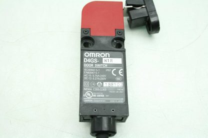Omron D4GS N1R Safety Door Interlock Switch with Interlock Key Used 172554743483 15