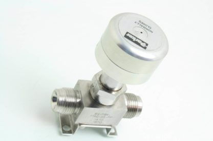 Parker 8V P8K 11AC SS PP Stainless 12 Face Seal Bellows Valve NC Used 171599637463 3