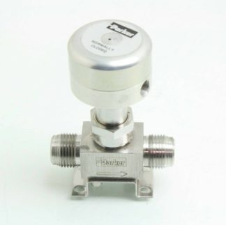 Parker 8V P8K 11AC SS PP Stainless 12 Face Seal Bellows Valve NC Used 171599637463