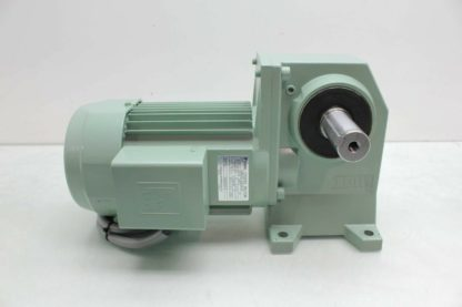 Tsubaki CSMA040 220L60TB Right Angle Shaft Worm Gear Reducer 160 400W 25 RPM Used 182338401013