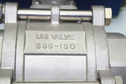 WireMatic AB Actuator WM 12 SR IS0 F05 43 with 2 NPT Stainless Ball Valve Used 181334475868 13
