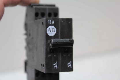 11 Allen Bradley 1492 GS2G150 Two Pole Circuit Breakers 15A 277V AC Used 172164410499 4