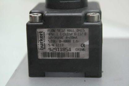 2 Burkert SE12 Inline Paddle Wheel Transmitters SY03C Manifold 1 34 NPT Used 172228184704 6