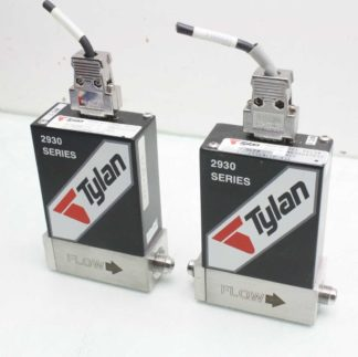 2 Tylan FC 2936MCEP NTL Mass Flow Controllers 3 SLPM HCl Hydrogen Chloride Gas Used 183203514694