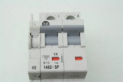 6 Allen Bradley 1492 SP2B130 13A Circuit Breakers 1992 ASPH3 Auxiliary Contact Used 171462965281 4